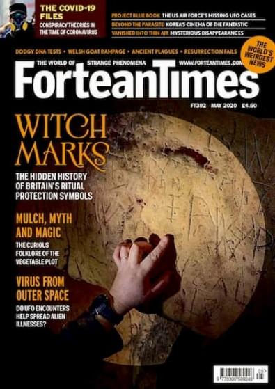 Fortean Times magazine cover