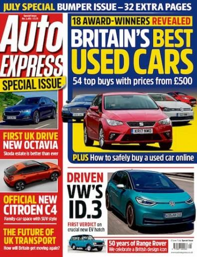 Auto Express magazine cover