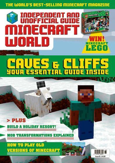 Minecraft World magazine cover