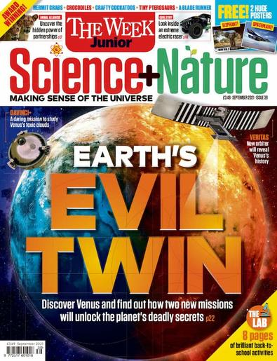 Science + Nature magazine cover