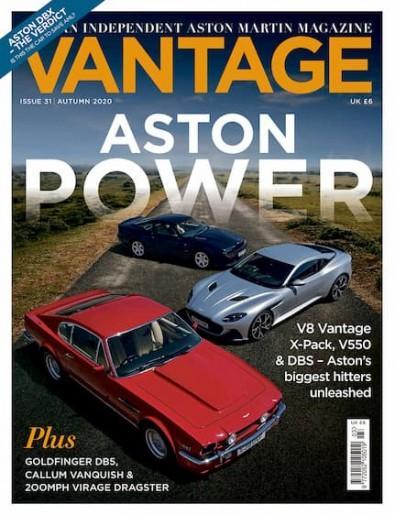 Vantage magazine cover