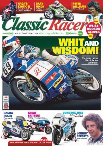 Classic Racer magazine cover