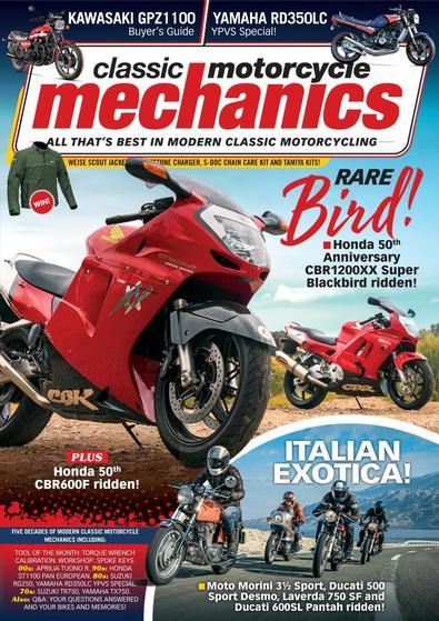 Classic Motorcycle Mechanics magazine cover