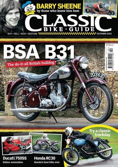 Classic Bike Guide magazine cover