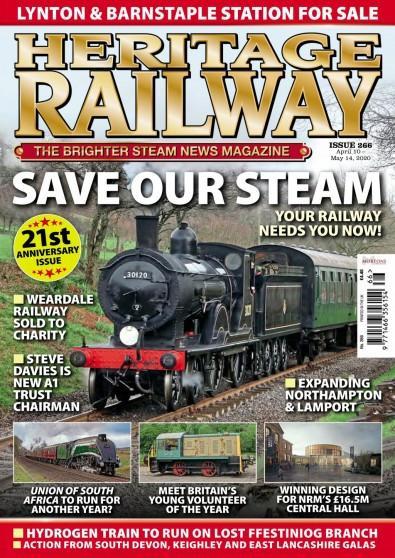 Heritage Railway magazine cover