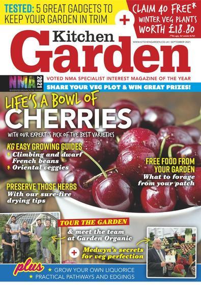 Kitchen Garden magazine cover