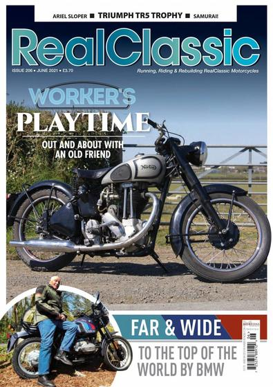 Real Classic magazine cover
