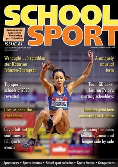 School Sport magazine cover