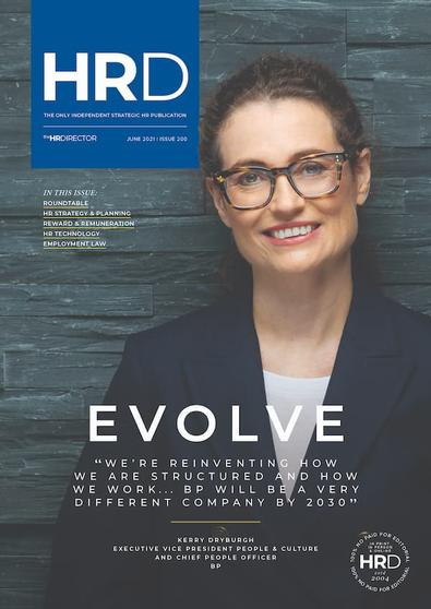 The HR Director magazine cover