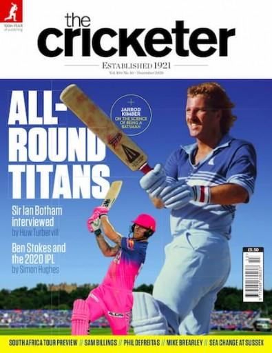 The Cricketer magazine cover