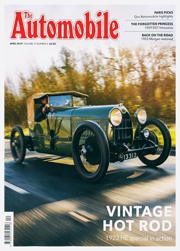The Automobile magazine cover