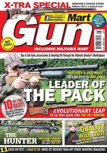 Gun Mart magazine cover