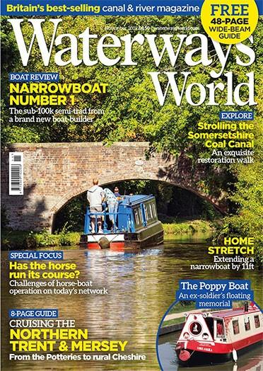 Waterways World magazine cover