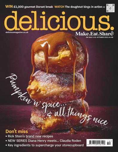 delicious. magazine cover