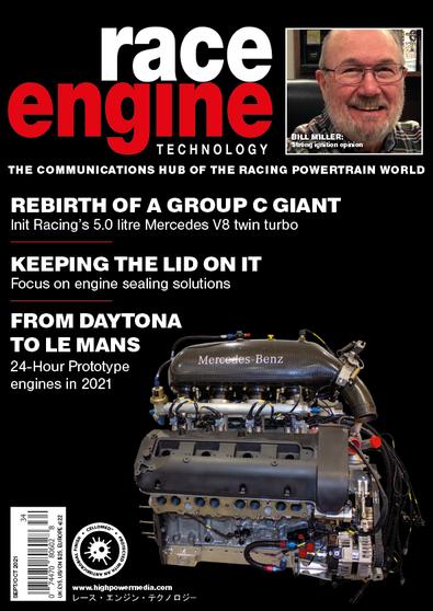 Race Engine Technology magazine cover