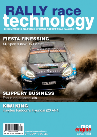 Rally Race Technology magazine cover