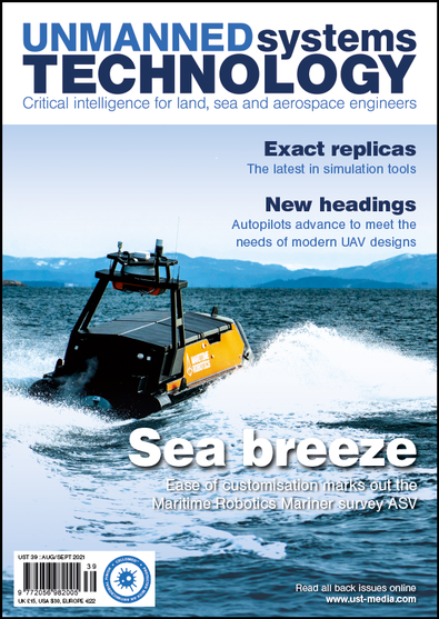 Unmanned Systems Technology magazine cover