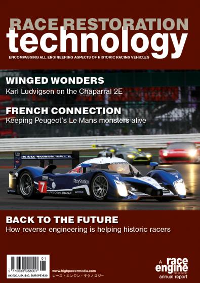 Race Restoration Technology magazine cover