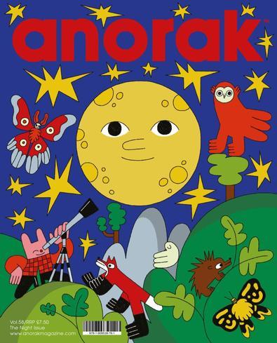 Anorak magazine cover