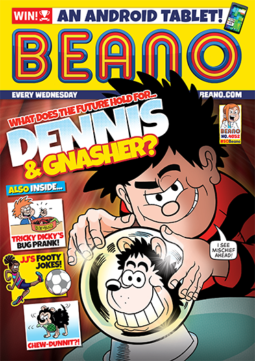 Beano magazine cover