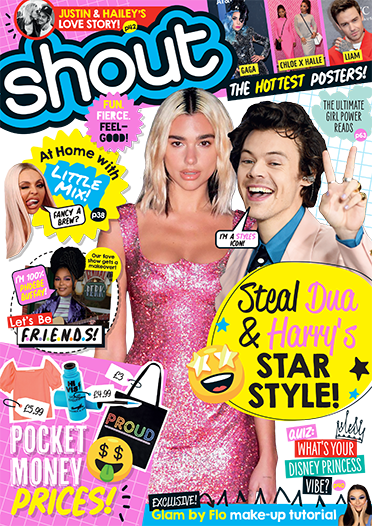 Shout magazine cover