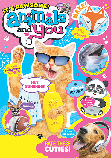 Animals and You magazine cover