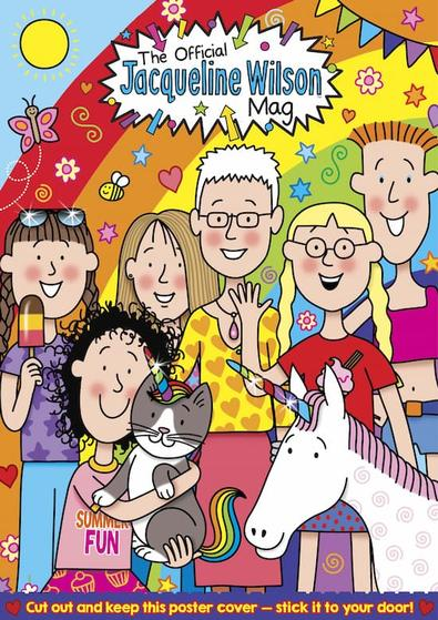 The Official Jacqueline Wilson magazine cover
