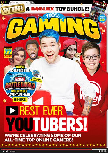 110% Gaming magazine cover
