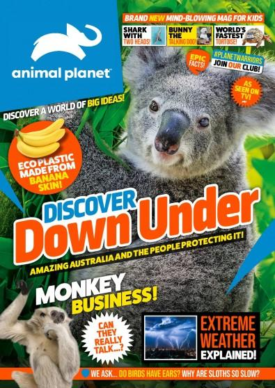 Animal Planet (with exclusive cover gifts included in every issue) magazine cover