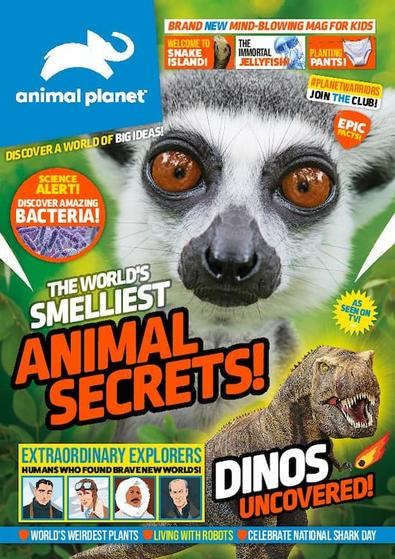 Animal Planet (excluding cover gifts) magazine cover