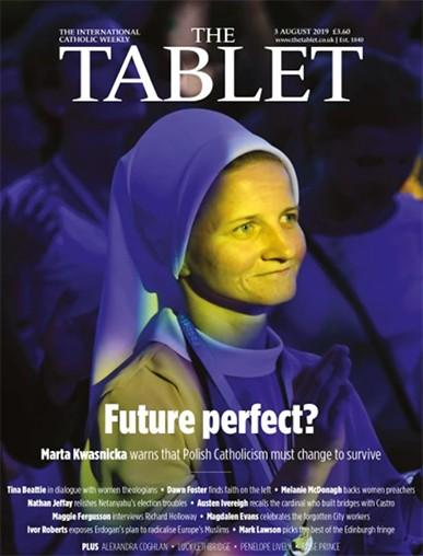 The Tablet magazine cover