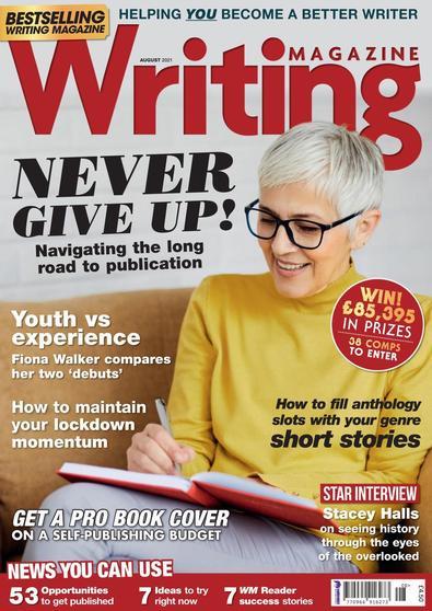 Writing magazine cover