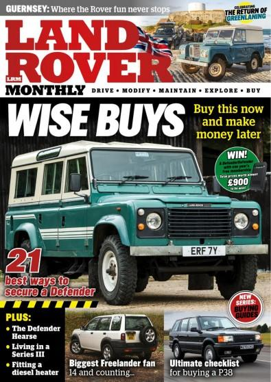 Land Rover Monthly magazine cover