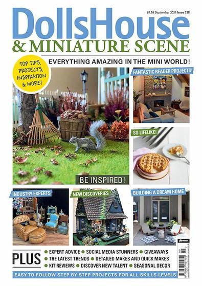 Dolls House & Miniature Scene magazine cover