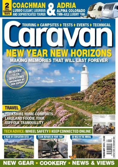 Caravan magazine cover