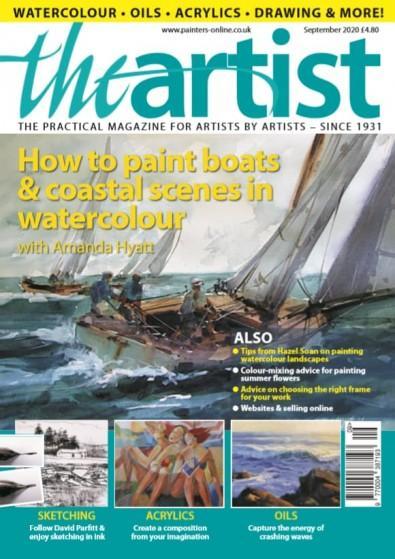 The Artist magazine cover