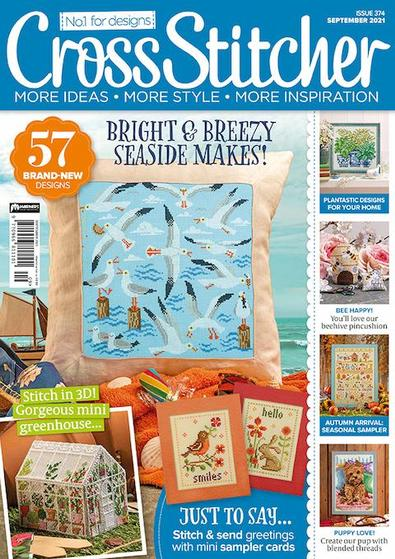 Cross Stitcher magazine cover