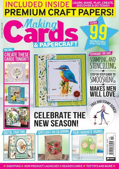 Making Cards magazine cover