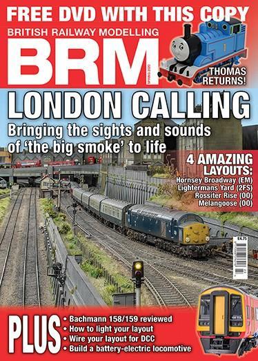BRM (British Railway Modelling) magazine cover