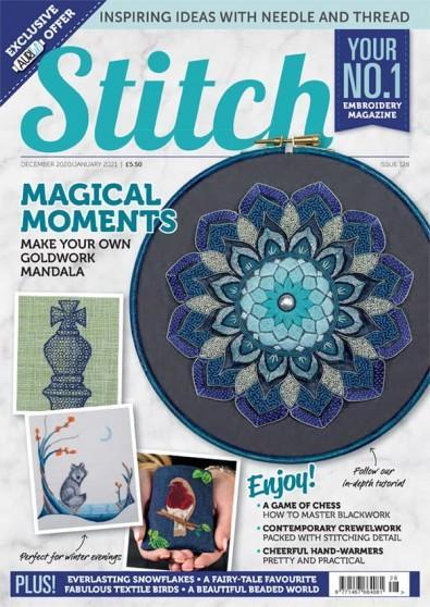 Stitch magazine cover