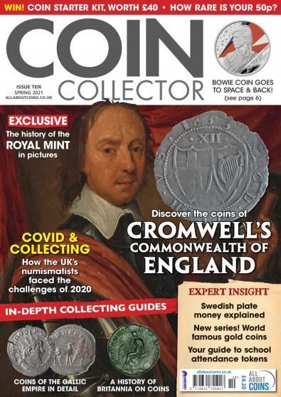 Coin Collector magazine cover