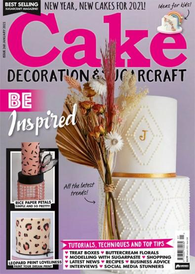 Cake Decoration & Sugarcraft magazine cover