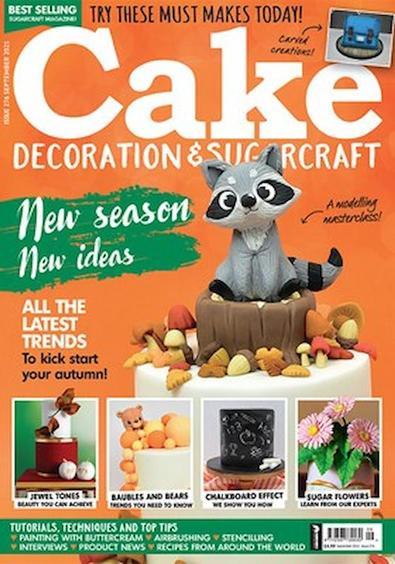 Cake Decoration & Sugarcraft magazine cover