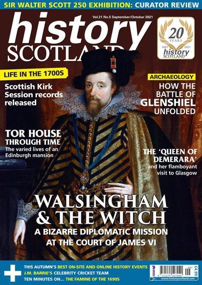 History Scotland magazine cover