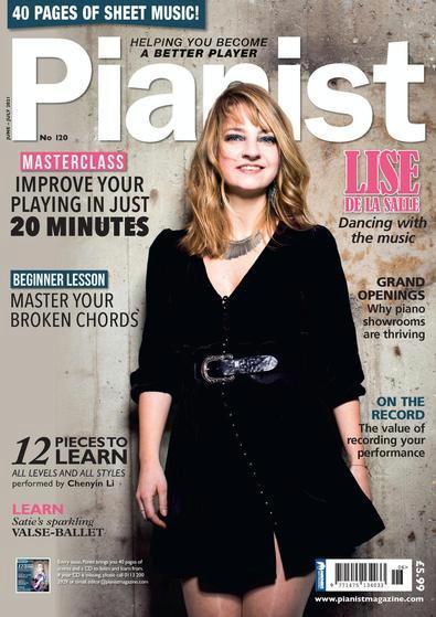 Pianist magazine cover