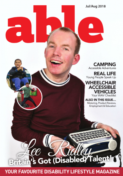 Able magazine cover