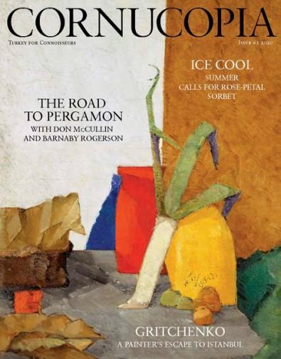 CORNUCOPIA: Turkey for Connoisseurs: magazine cover