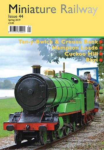 Miniature Railway magazine cover