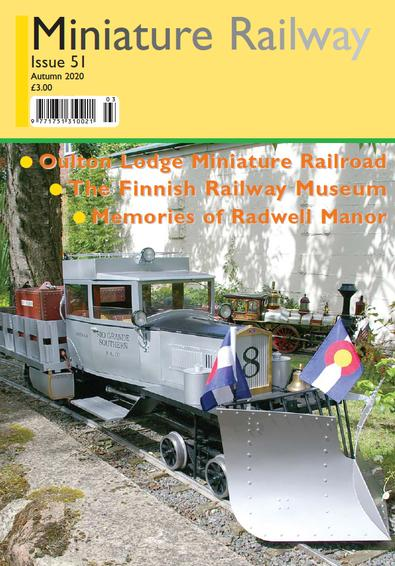 Miniature Railway magazine cover