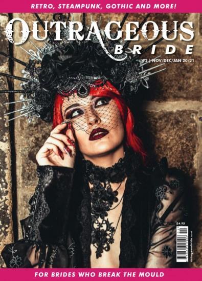 Outrageous Bride magazine cover